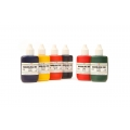 Marbling Inks Assortment - Set Of Six Assorted colours