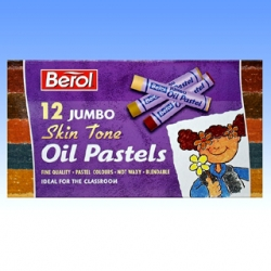 Jumbo Multicultural Oil Pastels