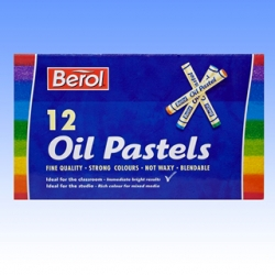 Oil Pastels- Box of 12