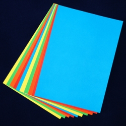 A2 Coloured Card -50 sheets assorted
