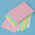 A4 Pastel Card - 100  Assorted Sheets