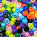Pony Beads - 500 Assorted colours