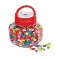 Barrel of Assorted Beads