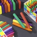 Chubbi Stump Crayons - Box of 8 Assorted