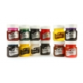 Drawing Inks Assortment - Set of 12 Assorted colours