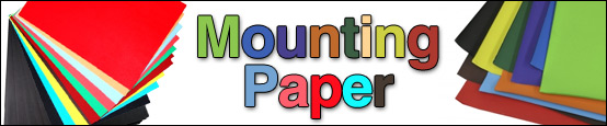 Mounting paper from Creative Minds