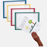 Printed border mounting paper